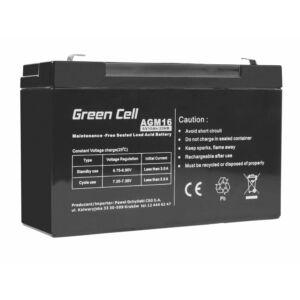 Green Cell AGM akkumulátor VRLA 6V 10 Ah