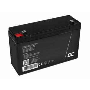 Green Cell AGM zselés akkumulátor 6V 14Ah