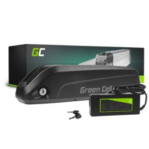 Green Cell Elektromos kerékpár akkumulátor Down Tube 35V 15Ah 250Wh E-Bike Pedelec