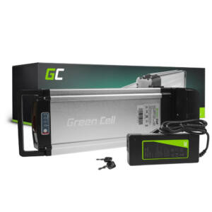 Green Cell Elektromos kerékpár akkumulátor 24V 8.8Ah 211Wh Rear Rack E-Bike Pedelec