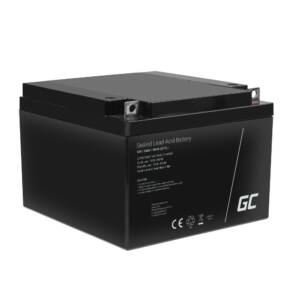 Green Cell AGM zselés akkumulátor VRLA 12V 26Ah