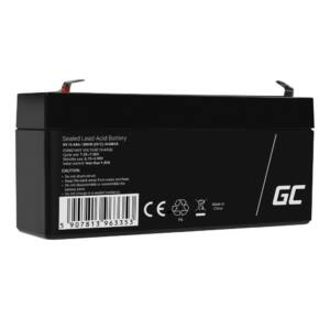 Green Cell AGM akkumulátor/akku 6V 3.1Ah
