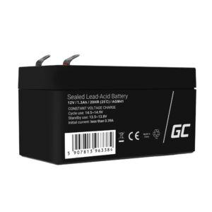 Green Cell AGM akkumulátor/akku 12V 1.3Ah