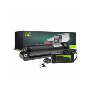Green Cell Elektromos kerékpár akkumulátor 24V 7.8Ah Li-Ion Bottle Type E-Bike töltővel