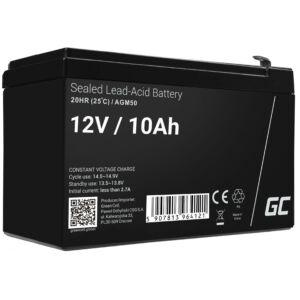 Green Cell ólom-sav AGM akkumulátor/akku 12V 10Ah
