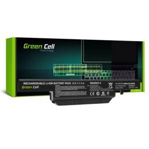 Green Cell Laptop akkumulátor W650BAT-6 Clevo W650 W650SC W650SF W650SH W650SJ W650SR W670 W670SJQ W670SZQ1