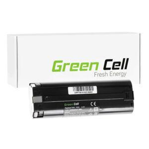 Green Cell Kéziszerszám akkumulátor Makita ML700 ML701 ML702 3700D 4071D 6002D 6072D 9035D 9500D 3000mAh