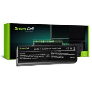 Green Cell Laptop akkumulátor Asus F2 F2J F3 F3S F3E F3F F3K F3SG F7 M51 11,1V 6600mAh