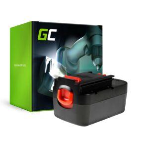 Green Cell Kéziszerszám akkumulátor Black&Decker A18 A1718 HPB18 18V 3Ah