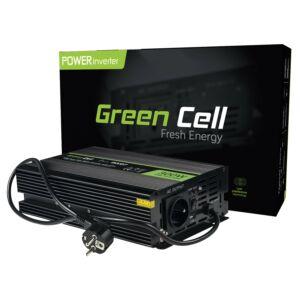 Green Cell Inverter beépített UPS Szünetmentes tápegység kemencékhez és központi fűtési szivattyúkhoz 300W