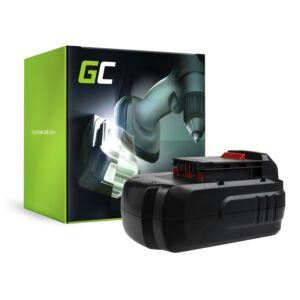 akkumulátor PC18B Green Cell Porter-Cable PC1800D PC180DK PC18AG PC18JR PC18JS PC18RS PC18SS
