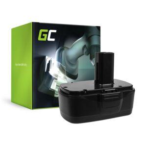 akkumulátor 11375 11376 Green Cell Craftsman C3 XCP 19.2V CRS1000 ID2030 11485 114850 114852 115410 17191 5727.1