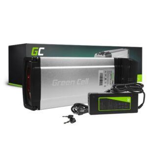 Green Cell Elektromos kerékpár akkumulátor 36V 12Ah 432Wh Rear Rack E-Bike Pedelec