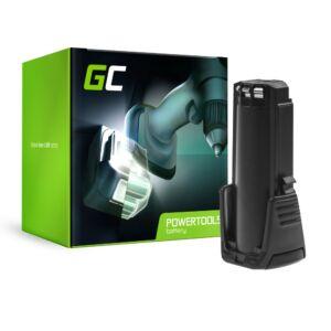Green Cell akkumulátor (2Ah 3.6V) 2607336241 BAT504 Bosch GSR GBA 3.6 PRODRIVE Mx2Drive