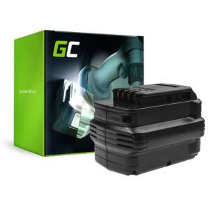 Green Cell akkumulátor (3Ah 24V) DE0240 DE0241 DE0243 DeWalt DC222KA DC223KA DC224KA DW006 DW008 DW017