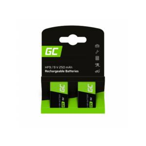 Green Cell akkumulátor 2x 9V HF9 Ni-MH 250mAh