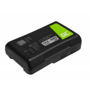 Green Cell Digitális kamera akkumulátor V-Mount Sony BP-95W 6600mAh 95Wh 14.4V