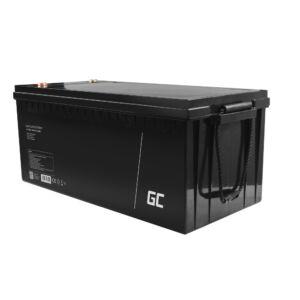 Green Cell AGM akkumulátor ólom savas 12V 200Ah karbantartás mentes, elektromos motorokhoz és csónakokhoz