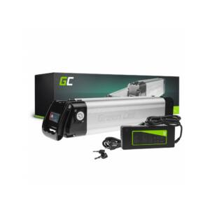 Green Cell Elektromos kerékpár akkumulátor 36V 11Ah 396Wh Silverfish E-Bike Pedelec