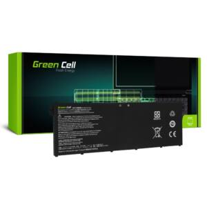 Green Cell Laptop akkumulátor AC14B3K AC14B8K Acer Aspire 5 A515 A517 R15 R5-571T Spin 3 SP315-51 SP513-51 Swift 3 SF314-52
