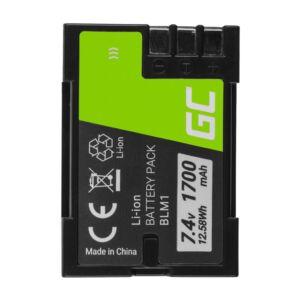 Green Cell Digitális kamera akkumulátor BLM-1 BLM1 Olympus CAMEDIA C-7070, E-300,volt E-500 7.4V 1700mAh