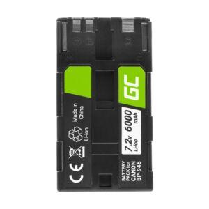 Green Cell Digitális kamera akkumulátor BP-80 BP-941 BP-945 Canon DM-XL1, ES5000, XL1 7.2V 6000mAh