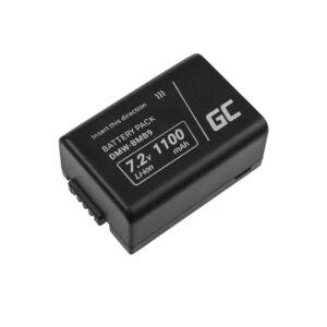 Green Cell Digitális kamera akkumulátor DMW-BMB9 (Half-Decoded) Panasonic Lumix DMC-FZ70, DMC-FZ60, DMC-FZ100, DMC-FZ40, DMC-FZ47 7.42 1100mAh