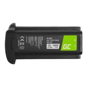 Green Cell Digitális kamera akkumulátor NP-E3 NPE3 Canon EOS-1D Mark II, Canon EOS-1Ds Mark II 12V 1800mAh