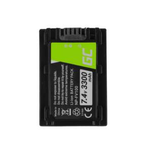 Digitális kamera akkumulátor Sony DCR-DVD506E DCR-DVD510E HDR-CX116E HDR-CX130 HDR-CX155E HDR-UX9E 7.4V 3300mAh