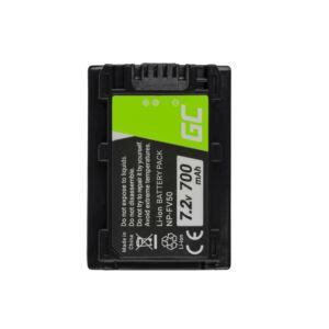 Digitális kamera akkumulátor Sony DCR-DVD506E DCR-DVD510E HDR-CX116E HDR-CX130 HDR-CX155E HDR-UX9E 7.2V 700mAh
