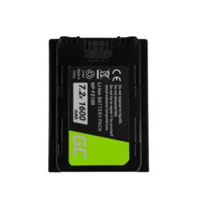 Digitális kamera akkumulátor Sony Alpha A7 III A7R III A9 A9R A9S ILCE-7M3 7RM3 7.2V 1600mAh