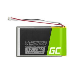 Green Cell GPS akkumulátor VF8 AHL03714000 GPS TomTom Go 530 630 720 730 930 X40 X50