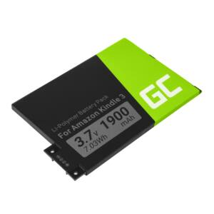 Green Cell E-Book akkumulátor 170-1032-01 Amazon Kindle 3 Keyboard 2010 D00901