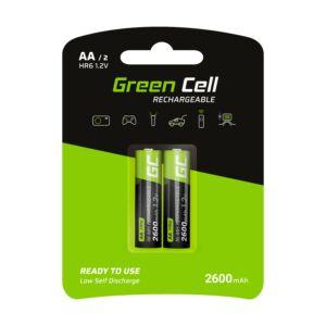 Green Cell akkumulátor 2x AA HR6 2600mAh