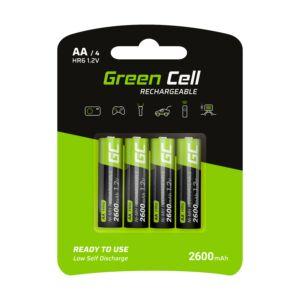 Green Cell akkumulátor 4x AA HR6 2600mAh