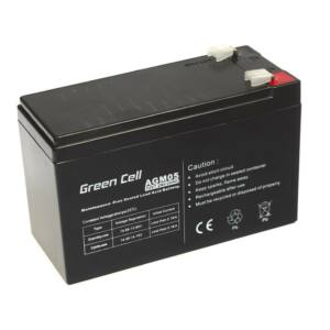 Green Cell AGM zselés akkumulátor 12V 7.2Ah