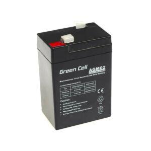 Green Cell AGM zselés akkumulátor 6V 4.5Ah