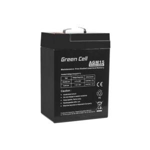 Green Cell AGM akkumulátor VRLA 6V 4 Ah