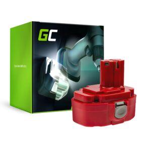 Green Cell akkumulátor 1822 1833 PA18 Green Cell (2Ah 18V) Makita 4334D 6343D 6347D 6349D 6390D 8390D 8391D