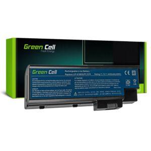 Green Cell Laptop akkumulátor Acer Aspire 5620 7000 9300 9400 TravelMate 5100 5110 5610 5620 11.1V