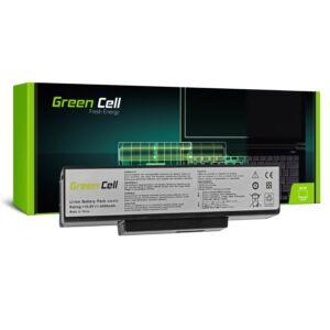 Green Cell Laptop akkumulátor Asus N71 K72 K72J K72F K73SV N71 N73 N73S N73SV X73S