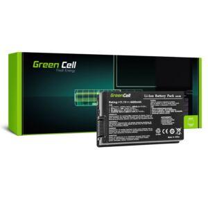 Green Cell Laptop akkumulátor Asus F50 F50Q F50Z F80S N60 X60 X61 X61S X61Z X61SL