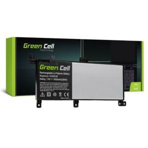 Green Cell Laptop akkumulátor C21N1509 Asus X556U X556UA X556UB X556UF X556UJ X556UQ X556UR X556UV