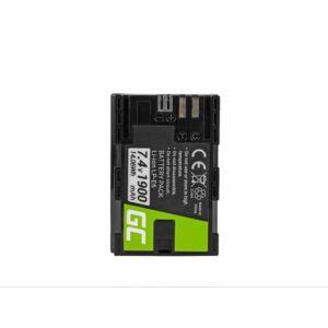 Green Cell Digitális Kamera akkumulátor Canon EOS 70D, 80D, 7D Mark II, 60D, 6D, 7D 7.4V 1900mAh, 5D Mark II/ III/IV,