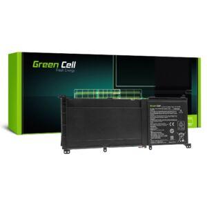 Green Cell Pro Laptop akkumulátor C41N1416 Asus G501J G501JW G501V Asus ZenBook Pro UX501 UX501J UX501JW / 15,2V 3950