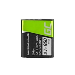 Green Cell Digitális kamera akkumulátor Sony DSC H10 H20 H50 HX5 HX10 T50 W50 W70 3.7V