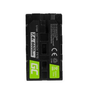 Green Cell Digitális kamera akkumulátor Sony NP-F330 NP-F530