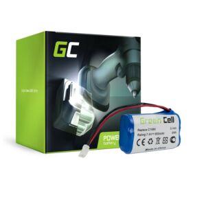 Green Cell akkumulátor Gardena C 1060 Plus Solar