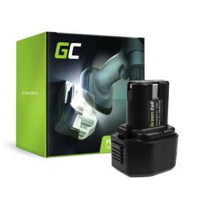 GreenCell  akkumulátor Green Cell 7.2V 1.5Ah BCC715 EB712S EB714S EB7 Hitachi NR90GC NR90GR