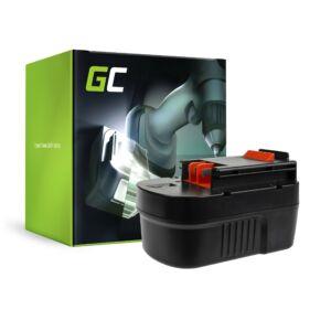 GreenCell  akkumulátor A14 HPB14 FSB14 Green Cell Black&Decker CP14K EPC14 EPC14CA HP142K XTC143 Firestorm FS1400 FS14PS PS142K